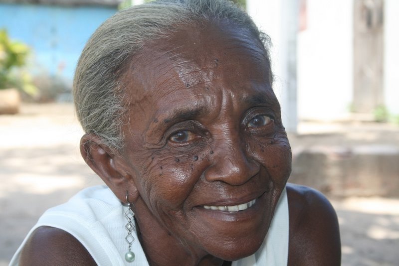 Dona Cândida... 73 anos, quilombola da Comunidade Pitanga dos Palmares (Simões Filho)