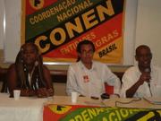 Diana Costa, Samuel Vida e Gilberto Leal