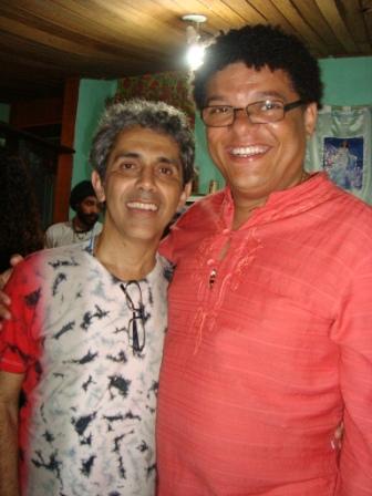 Sérgio e Jota Veloso. Sarau dos Artistas