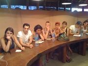 Vistia de estudantes da New York University ao Mídia Étnica