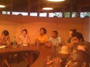 Visita de estudantes da New York University ao Mídia Étnica