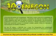 10° ENCONTRO NORDESTINO DE CONTABILIDADE 2011