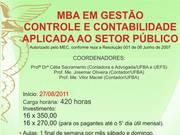 MBA EM GESTÃO 2011