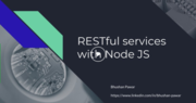 RESTful services with Node JS - Part 2 - Simpliv