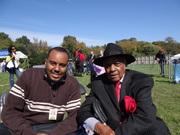 Com  líder do movimento dos direitos civis, Al Dixon