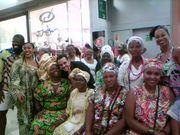 2° mostra de trajes afros de mulheres religiosas de matriz africana