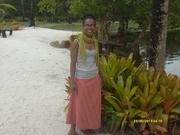 Eu, na fazenda Mãe Tereza, Cabrália, Bahia.