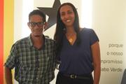 Com a Presidente do PAICV de Cabo Verde