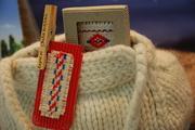 knitted wollen bag belokranjska pramenka toncka jankovic slovenia