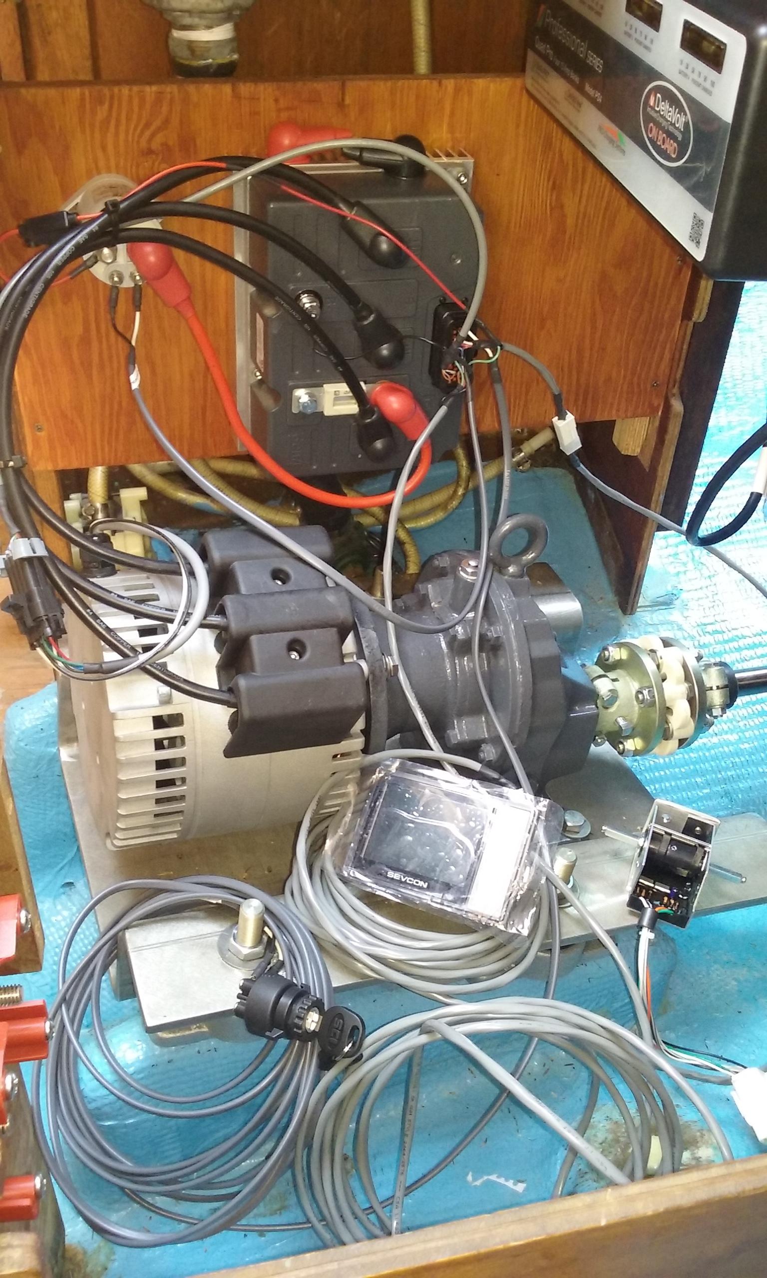 10 KW Motor Install