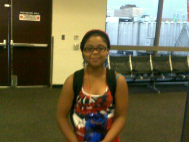 Daddy little girl fresh off the plane.