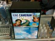Check out this donation box for Cameran