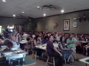 Some of the crowd at the AFT real facts tour stop in Woodbridge