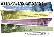Kids/Teens On Stage