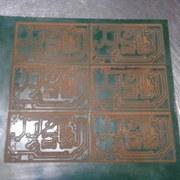 Placa de circuito impresso produção a laser