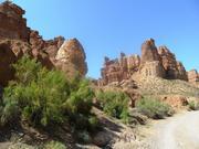 Дорога по Чарынскому каньону