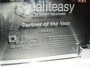Premio de Partner del año en FARONICS International Partner Summit en Praga