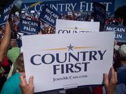 Country First