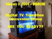 Digital TV Transition Discussion