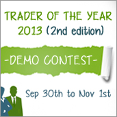 Trader of the Year 2013 Demo Contest