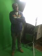 "BOOGAZ ON DA WALL VIDEO SHOOT FOR ""RED RAIN"""