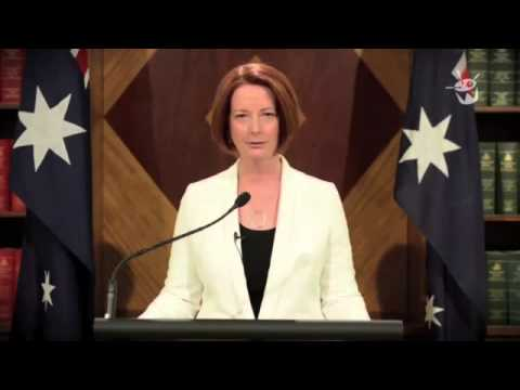 "Mayan apocalypse Australian PM:Julia Gillard sends Message ""Good luck to you all,"""