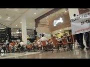 Protesto contra o racismo no Shopping Higienópolis em SP