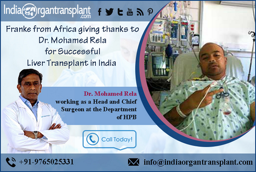 Pioneer Liver Transplant Surgeon changed the Life of a African Patient