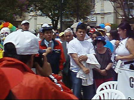 Disability Rights/Awareness Rally in Cuenca, Ecuador