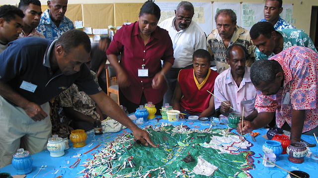 Mapping Land, Sea and Culture: an Award-winning Participatory 3D Modelling Process in Fiji
