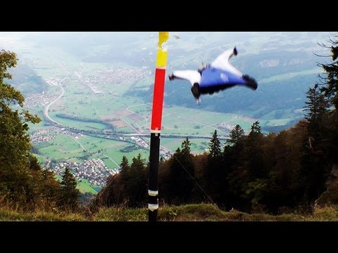 Alexander Polli Wingsuit Downhill Gate Bashing: Precision Of Human Flight