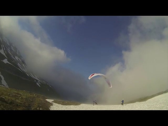 X-Alps 2013/ team FRA1 : In the lee...