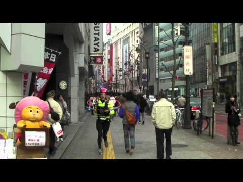 Tokyo Marathon 2011 - The World's Most Advanced Mobile Social Media Studio