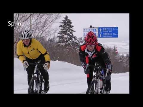 Snow Cycling / Cyclisme sur neige