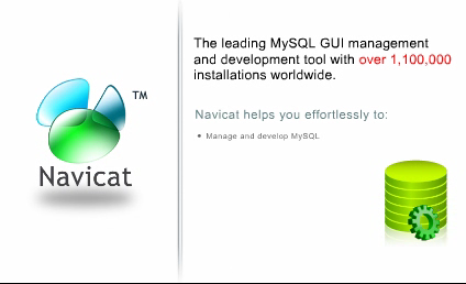 MySQL SETUP - introduction of Navicat
