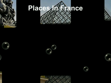 Places in France and Paris