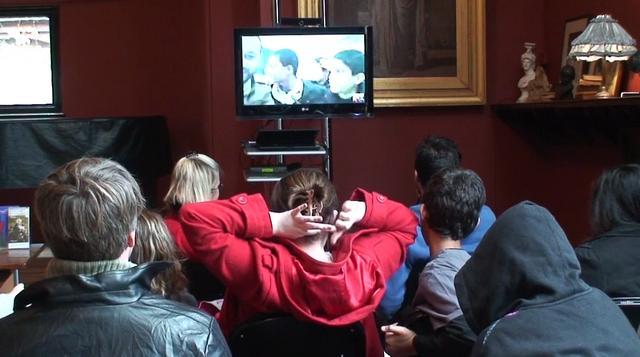 Talking to Gaza in Leighton House Clip 3