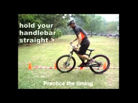Mtb trial tutorial for being to rock 290416