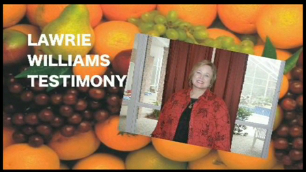 LAWRIE WILLIAMS- TESTIMONY (LOST 30 POUNDS IN 30 DAYS)
