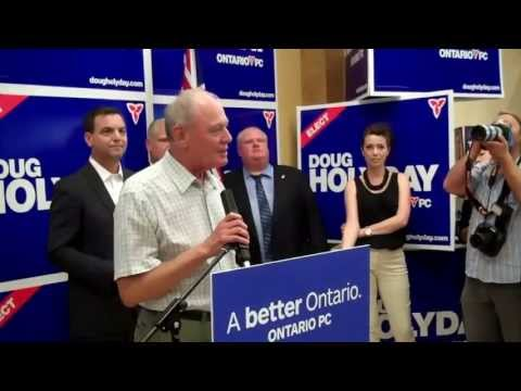 Etobicoke-Lakeshore  PC Candiate Doug Holyday By-Election Kick-Off Campaign