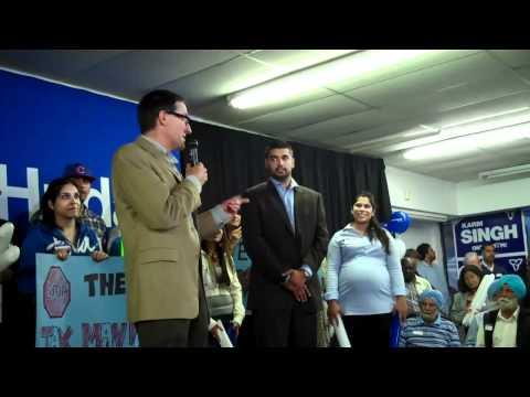 PC Etobicoke Rally; Simon Nyilassy Karm Singh Tim Hudac