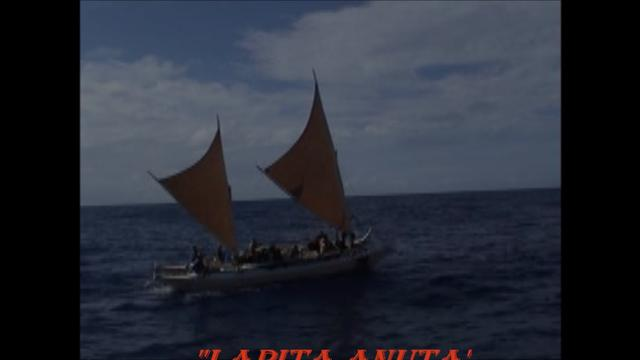 Lapita Anuta on the way to Tikopia