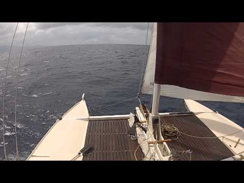 wharram tiki 38 perfect blend sailing