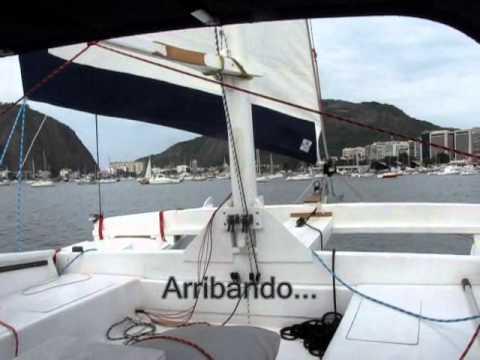 Tiki 30 - Trial sail do tikirio