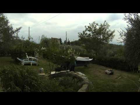 Tiki 21 transfer from garden to trolley