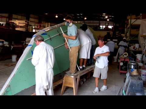 Foam Coring & Demolding an Ariki Hull