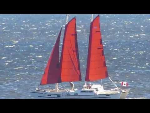 Kattu sailing fast upwind