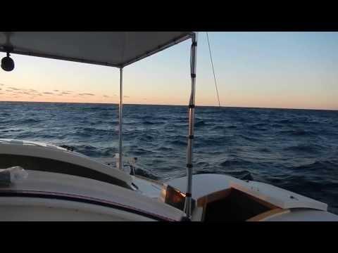 Kattu gets her first taste of trade wind sailing