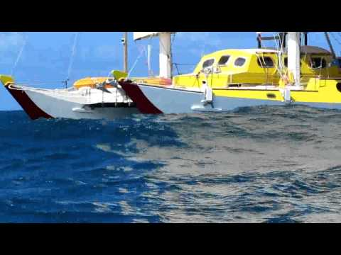 Grand PHA sailing along the Atlantic Panama coast in March 2014