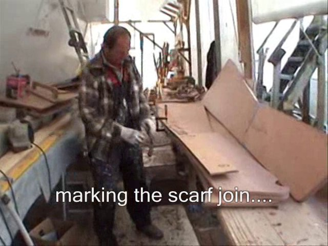 tiki 46, building the rudder blades